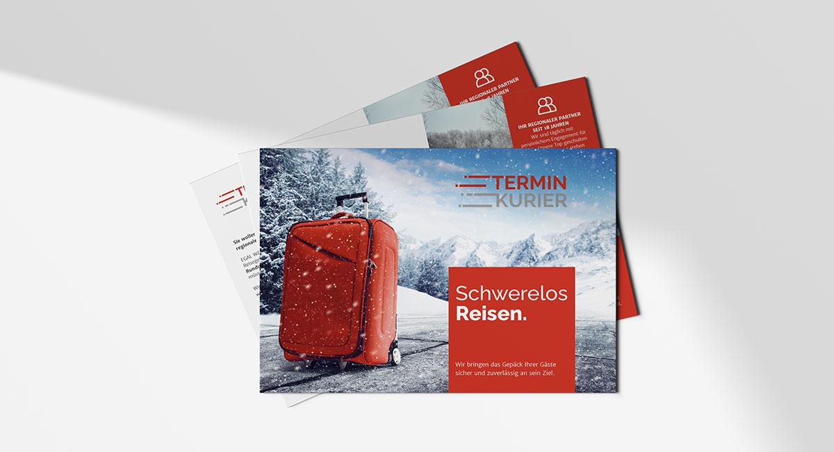 Terminkurier – Direct Mailing - EVITA Marketing
