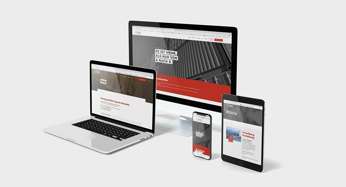 Terminkurier – Website - EVITA Marketing